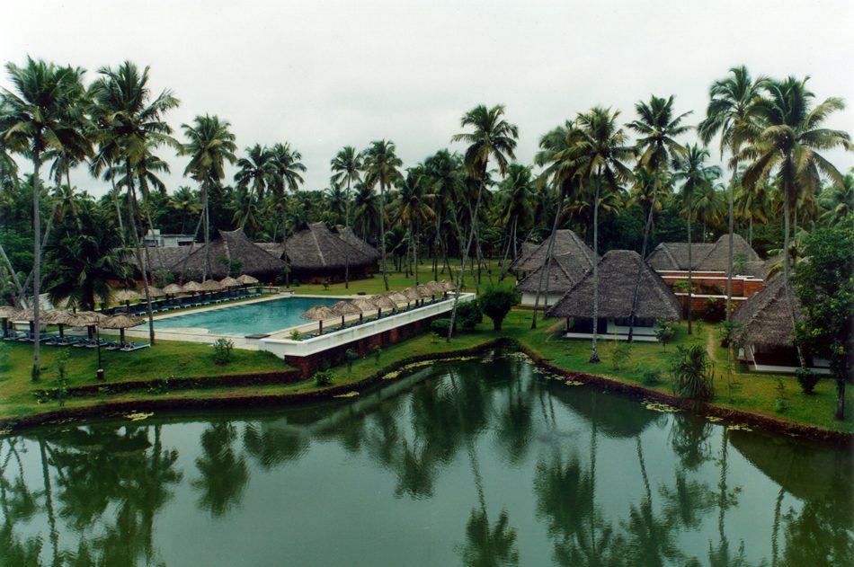 Marari-Pool-Garten
