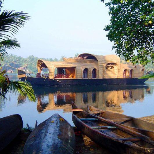 Hausboot auf Keralas Backwaters