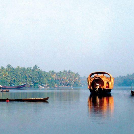 Schwimmende Hotels in Indien
